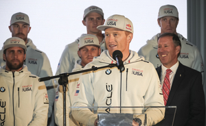 SKIPPER: Jimmy Spithill er mannen som skal forsvare Oracle Team USA.