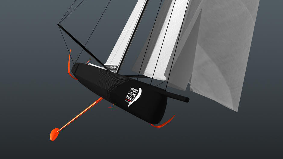 Offshore 60 foot (18.29m) foil-assisted monohull