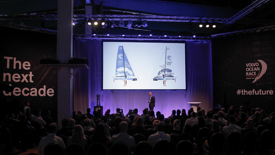 On the 18 May, the Volvo Ocean Race unveiled a series of new initiatives for the future at an event in the Volvo Museum in Gothenburg, Sweden.