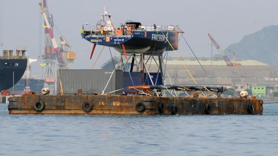For EDITORIAL USE only, please credit: Dave Kneale/Volvo Ocean Race